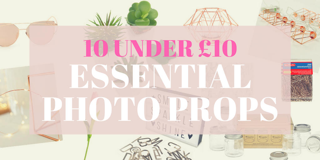 10 Essential Blog Photo Props for Under £10