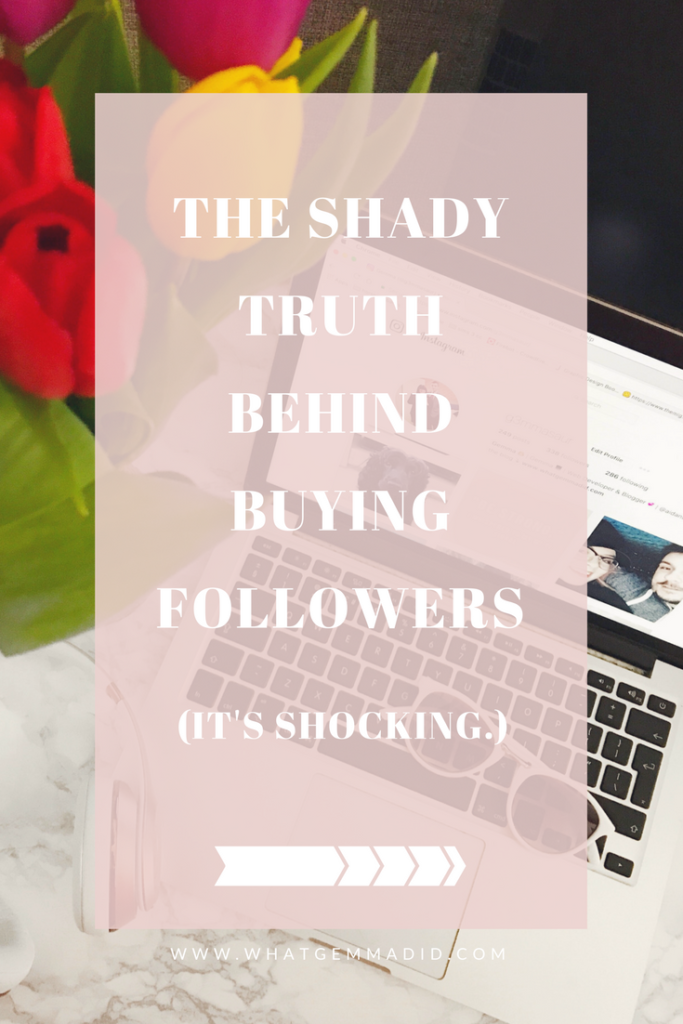 I learned the SHADY TRUTH about BUYING FOLLOWERS on Instagram. Read it to find out more.