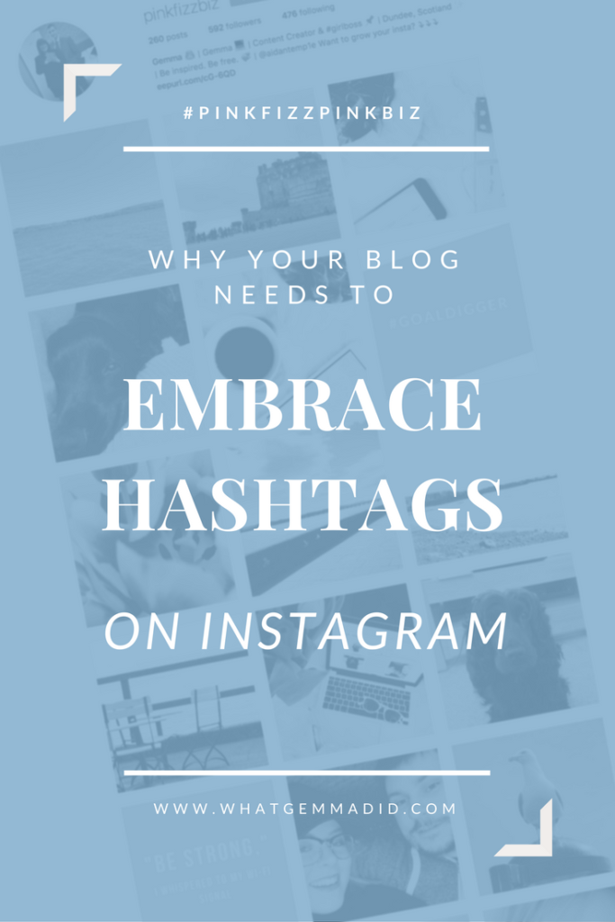 Your blog NEEDS you to embrace hashtags on Instagram. Hashtags are the quickest way to grow your Instagram and increase engagement.