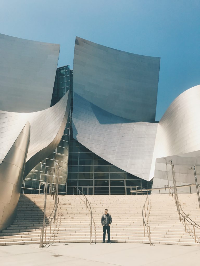 Walt Disney Concert Hall, home of the Disney Philharmonic