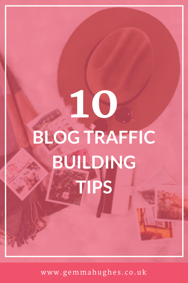 10 blog traffic building tips